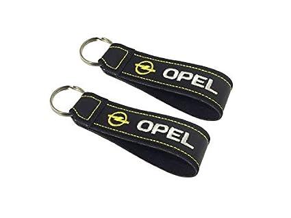 Moto Discovery Opel cordón Llavero Doble Cara (1 Pieza ...