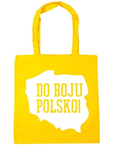 Bag Poland Go Beach 10 Gym Tote litres boju Polsko Do HippoWarehouse Yellow Shopping 42cm x38cm qFwUzgFS