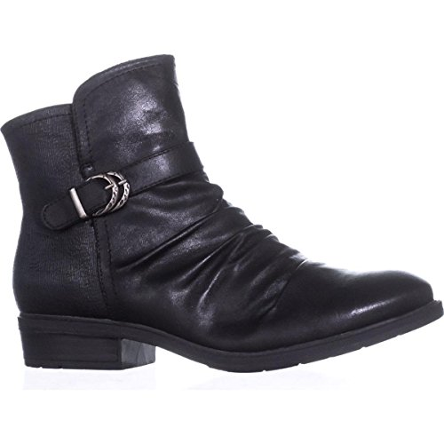 US Comfort Flat Ankle 8 Black Boots Ysidora BareTraps qw8fHH