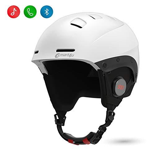 smart4u Smart Ski Helmet SS1 with Bluetooth Ski & Snowboard Helmet Audio,Walkie-Talkie/Push-to-Talk