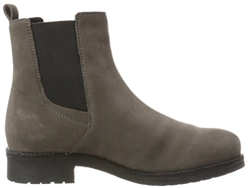 Geox D New Virna H, Stivali Chelsea Donna Marrone (Mud)