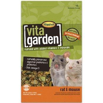Higgins Vita Garden Rat & Mouse Food, 2.5 Lbs, - Rat Vita