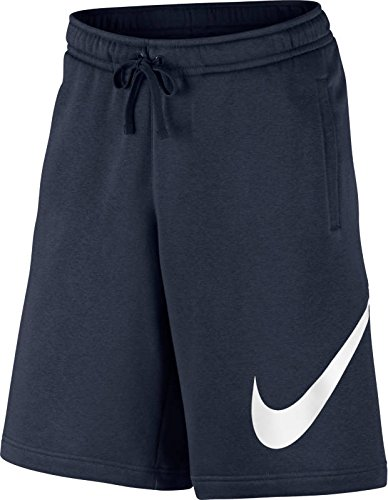 Nike Mens Club Explosive Shorts Obsidian Blue/White 843520-451 Size X-Large