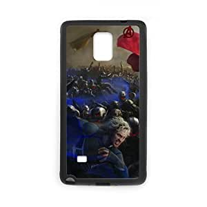 the Case Shop- Avengers 2 Avengers2 Age of Ultron Super Hero Quicksilver TPU Rubber Hard Back Case Silicone Cover Skin for SamSung Galaxy Note4 , n4xq-389