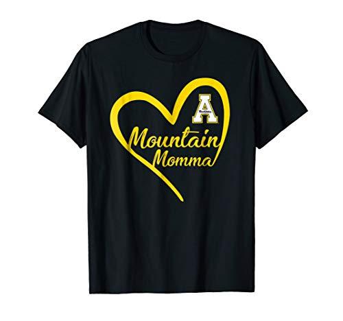 (Appalachian State Mountaineers Heart Mountain Momma T-Shirt )