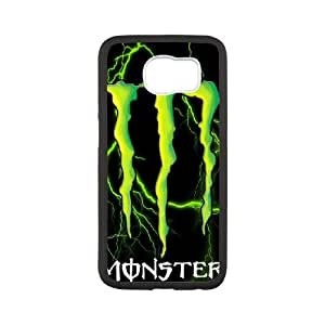 Samsung Galaxy S6 Phone Case White Monster Energy QY8512350