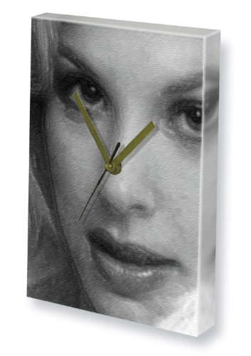 Seasons DOROTHY R. STRATTEN - Canvas Clock (A4 - Signed by the Artist) #js001 (Models Arts Artist Buck)