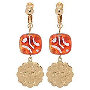 GrandUAE Women's Alloy Earring, Multi Color