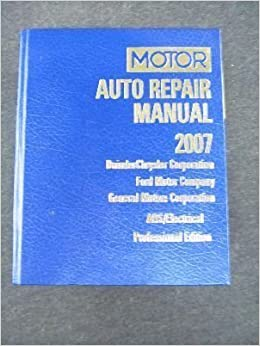 Motor Auto Repair Manual 2007 Daimler Chrysler Corporation Ford. Motor Auto Repair Manual 2007 Daimler Chrysler Corporation Ford Pany General Motors Abselectrical Professional Edition Volume. Wiring. General Electric Motor Parts Schematic At Scoala.co