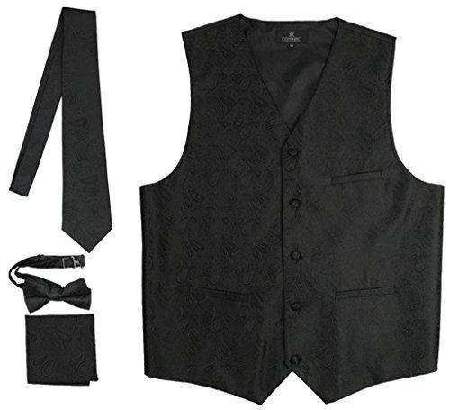 Vittorino Formal Paisley Tuxedo Hankerchief