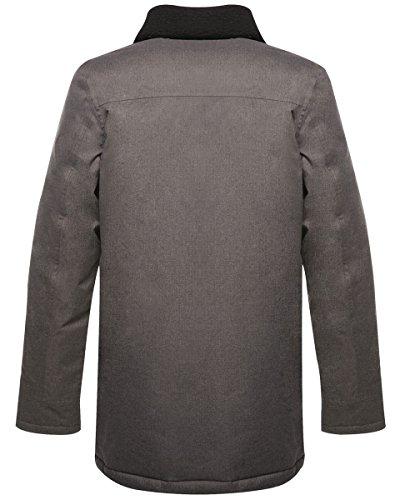 Originals Detachable Jacket Whitworth Regatta Ash New Borg Style Fleece Collar Coat qSwgIdI