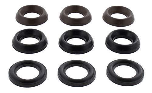 General Pump Kit 69 Packing Kit with Restop Ring for 20mm Pressure Washer Pump T1011 T2031 T9211 TS1011 TS1021 TS1041 TS1511 TS1531 TS1711 TS1811 TS2011 TS2011 ()