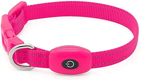BSEEN LED Collar Rechargeable Pink product image
