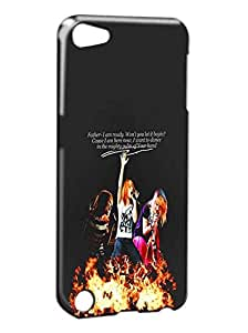 Ipod 5 Funda, Vintage Design The Neighbourhood The NBHD Band Design For Ipod Touch 5th Generation Phone Funda Cover Hard Slim Thin Plastic Skin Bumper For Teens Team Logo Pattern