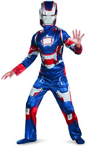 Marvel Iron Man 3 Patriot Boys Classic Costume, (Ironman Halloween Costumes)