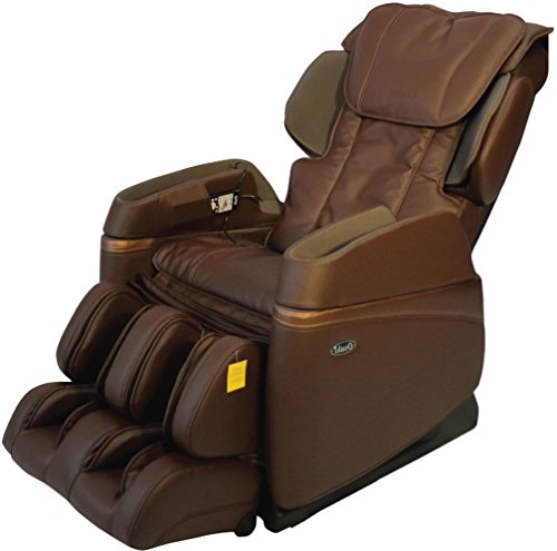 Osaki OS3700B Model OS-3700 Buttocks Massage Chair, Brown, Arm Air Massagers, Foot and Calf Massage, Shoulder Airbag Massage, Lumbar Heat Therapy, Seat Vibration, Intensity Control