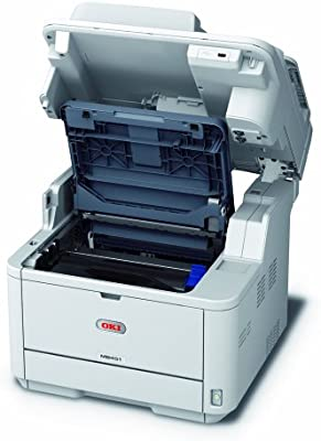 OKI MB451DN - Impresora multifunción láser Blanco y Negro (A4, 29 ...