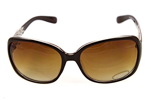Bebe sunglasses Women's Butterfly (Bebe Brown Sunglasses)