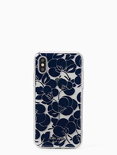 Kate Spade New York Breezy Floral iPhone XR Case, Blazer Blue