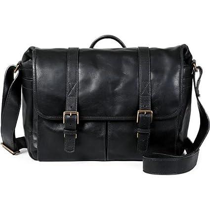 483e26bfba3 Amazon.com : ONA - The Brixton - Camera Messenger Bag - Black Leather  (ONA5-013LBL) : Electronics