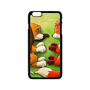Lovely fox and wolf Cell Phone Case for Iphone 6