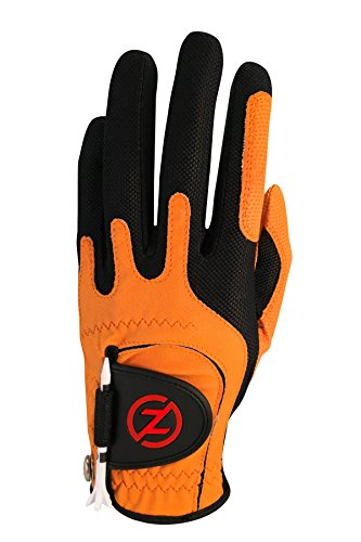 Zero Friction Men's Golf Glove, Left Hand, One Size, Orange