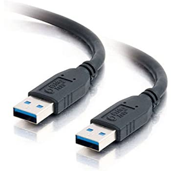 c2g cables to go 54172 usb 3 0 a male to a male cable black 3 meter 9 8 feet. Black Bedroom Furniture Sets. Home Design Ideas
