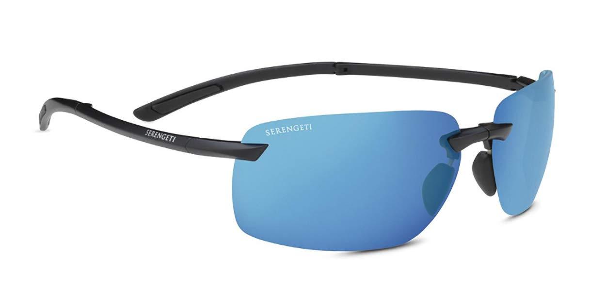 Serengeti Sunglasses, 555nm Blue Polar PhD 2.0 NXT Sun Lens, Matte Black by Serengeti