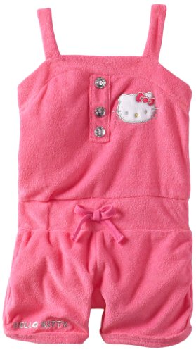 Hello Kitty Girls 2-6X Romper With Kitty