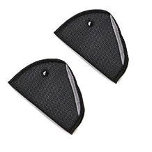 Merssavo Seatbelt Adjuster, 2 Packs Seat Belt Safety Covers Strap Adjuster Pad for Kids