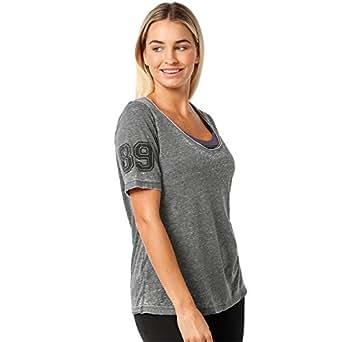 Lorna Jane Women Easy Wear Tee, Black, XS