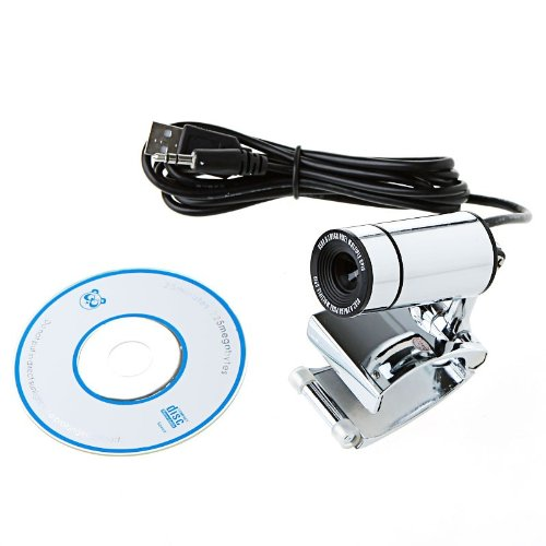 Kingzer Clip USB 30.0 Mega Pixel PC Camera HD Webcam with MIC for Computer Laptop from KINGZER