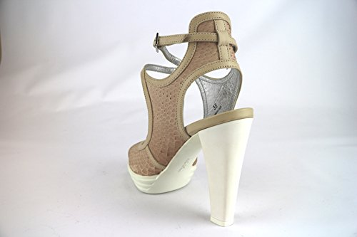 HOGAN sandali donna beige rosa pelle AH670
