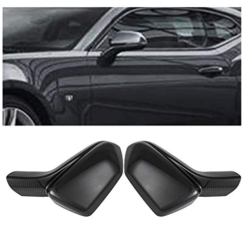 Mophorn Mirror Covers For 2016 2017 2018 Chevy Camaro LT SS RS ZL1 Carbon Fiber Add On Side View