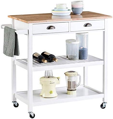 ChooChoo Rolling Kitchen Cart