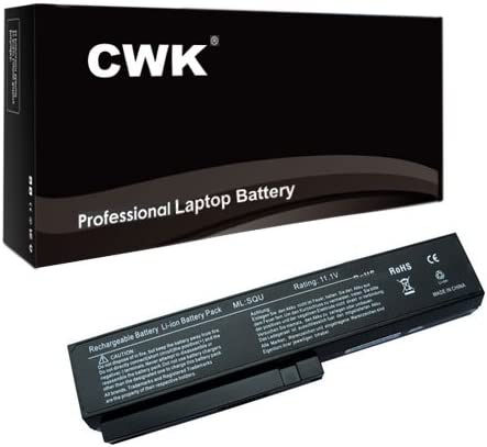 CWK/® New Replacement Laptop Notebook Battery for LG 3UR18650-2-T0144 3UR18650-2-T0188 3UR18650-2-T0412 916C7830F LG SQU-804 SQU-805 SQU-807 SW8-3S4400-B1B1 916C7830F LG R410 R510 SQU-804 SQU-805 SQU-807 Qaunta TW8 SW8 DW8 EAA-89 3UR18650-2-T0188 916C7