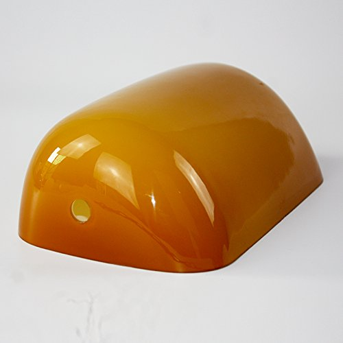 Newrays replacement amber glass bankers lamp shade cover for newrays replacement amber glass bankers lamp shade cover for banker desk lamp mozeypictures Gallery