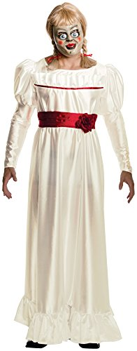 [Annabelle Horror Costume, White, X-Large] (Halloween Costumes Scary Doll)