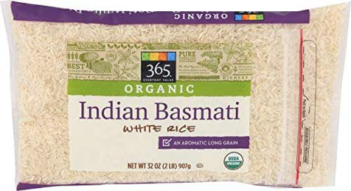 Rice: 365 Everyday Value Organic Indian Basmati White Rice