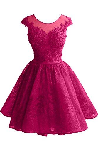 Pink Festlichkleider Damen Cocktailkleider Neu Promkleider Braut Spitze Mini Tanzenkleider Marie La Abendkleider gPSwqPA