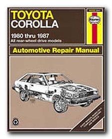 haynes automotive repair manual 92032 toyota corolla rwd 1980 rh amazon com Toyota Corolla Service Diagrams 2000 Toyota Corolla Engine Exploded View