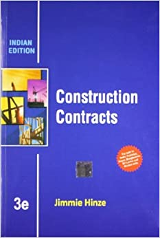 Construction Contracts (EDN 3) by Jimmie Hinze by Jimmie Hinze (2010-01-01)