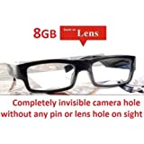 34580f378a Hidden Camera Glasses NO PIN or LENS HOLE 8GB Memory Invisible Micro HD  Video Camera Surveillance