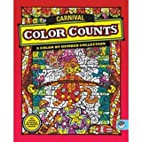Carnival Color Counts Color By Number Collection [Toy]