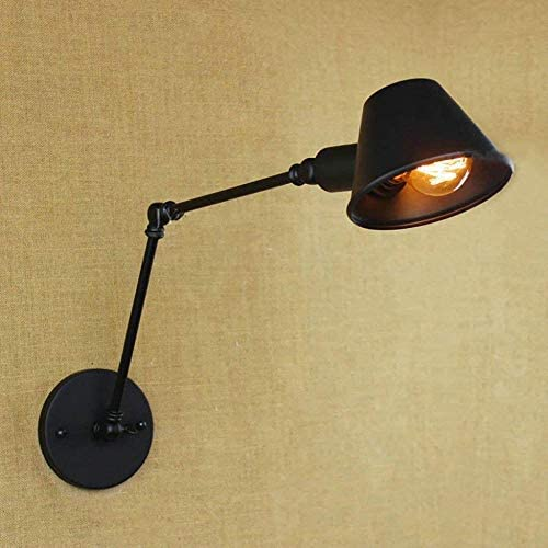 XZHKSP Wall Lights Bar Chandelier Decoration lamp Retro Rocker Studio Telescopic Reading American Industrial Bedroom nightstand