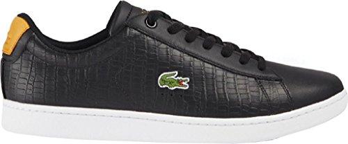 Lacoste Men's Carnaby EVO G117 1 Sneaker Black/Tan big discount online mTuJIkLT