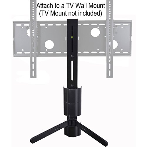 VideoSecu Component Shelf Wall Mount Bracket for DVR VCR DVD Player DDS Receiver Cable Box - TV Mount Attachable M01 ()