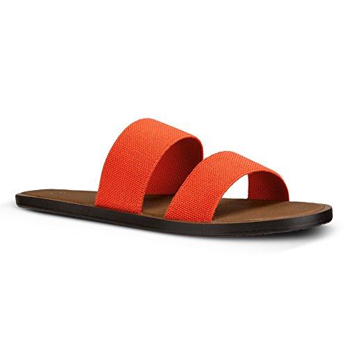 Yoga Sanuk Arancio Gora Sandalo 6 Delle Fiamma Donne rAHrwqCx