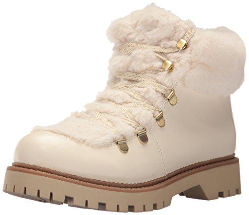 Ivory Womens Boots - Circus by Sam Edelman Women's Kilbourn Fashion Boot, Modern Ivory Smooth Atanado Veg/Lobo Fur, 8 M US