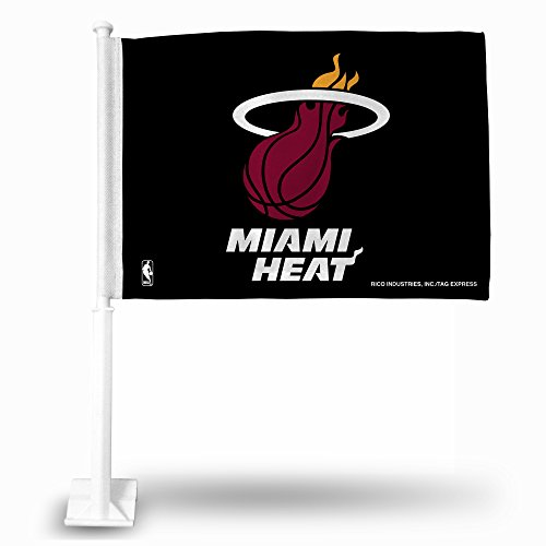 miami heat car flag - 4
